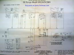 wiring diagrams and schematics fixitnow com samurai appliance ge range model jbs26ov2wh schematic