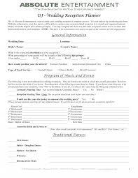 wedding dj contract templatepincloutcom templates and resume it