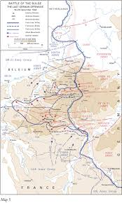 chapter american military history volume ii map5 battle of the bulge the last german offensive 16 25 1944