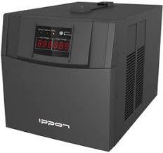 <b>Стабилизатор</b> напряжения <b>Ippon AVR</b>-<b>3000</b> 3000Вт 3000ВА ...