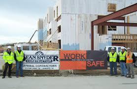 promotes job site safety through worksafe program dean worksafe