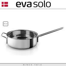 Глубокая <b>сковорода</b>-сотейник <b>Stainless</b> Steel, D 24 cm, <b>Eva Solo</b> ...