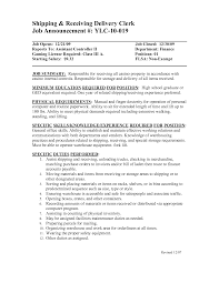clothing store resume sample for shipping and receiving clerk cover letter clothing store resume sample for shipping and receiving clerk samples supervisor sampleshipping and receiving