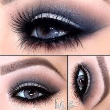 <b>Shiny smokey eyes</b> night blue and pink #eyemakeupsmokey | Eye ...