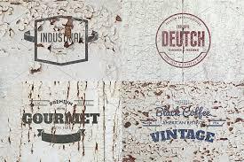 <b>6</b> Cracked <b>Wall Logo</b> Mockups ~ Branding Mockups ~ Creative Market