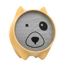 Bluetooth <b>колонка Baseus</b> Dogz Wireless speaker E06 Yellow ...