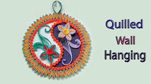 Quilled | <b>Yin Yang</b> | Mandala <b>Flower</b> Design <b>Wall</b> Hanging for Room ...
