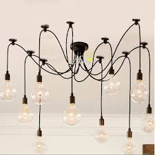 antique 10 edison big bulbs pendant lighting 8839 antique pendant lighting
