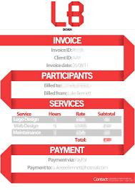 invoices design invoices