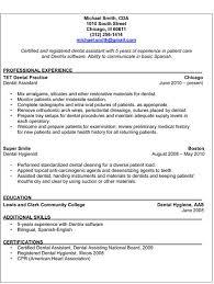 Resume Sample Dental Assistant Sample Entry Level Dental Assistant ... pediatric dental assistant sample resume examples dental assistant sample