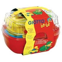 набор для лепки giotto be be bucket паста моделирования 4 цвета инструменты 462600