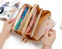 <b>Double Zipper</b> Wallet Phone Holder Online Shopping   <b>Double</b> ...