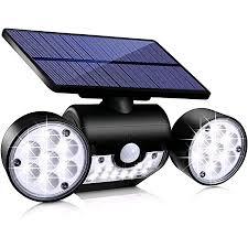 Hmcity <b>Solar Lights Outdoor</b> 120 <b>LED</b> with <b>Lights</b> Reflector and 3 ...
