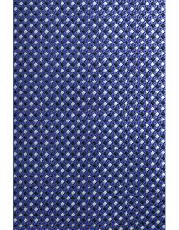 Blue silk tie with <b>optical pattern</b> | Canali.com