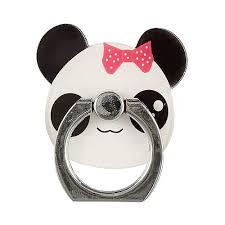 <b>Держатель</b>-<b>кольцо для телефона Панда</b> (металл) (коробка ...