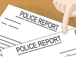 Image result for police report
