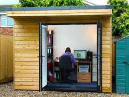 how about building a garden office for your building a garden office