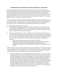 undergraduate research proposal sample undergraduate research proposal sample