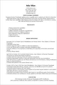Resume Templates  Exercise Physiologist My Perfect Resume