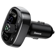 <b>Baseus</b> T typed Bluetooth MP3 – автомобильное <b>зарядное</b> ...