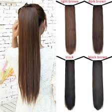 Wholesale-Hot <b>Sale</b> 24inch <b>60cm</b> 90g/pcs <b>Fashion</b> Ponytail ...