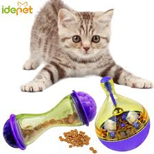 <b>Pet Dog Fun</b> Bowl Feeder <b>Cat</b> Feeding Toys <b>Pets</b> Tumbler Leakage ...