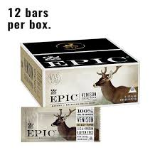 <b>Sea Salt</b> & <b>Pepper Venison</b> Bar - Protein Meat Bars - EPIC – EPIC ...