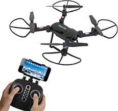 Headless Mode Quadcopter QYLOZ <b>Dual Camera Aerial Folding</b> ...