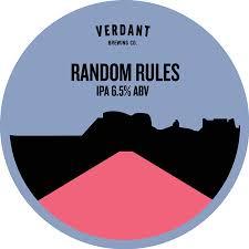 <b>Random Rules</b> - Verdant Brewing Co - Untappd
