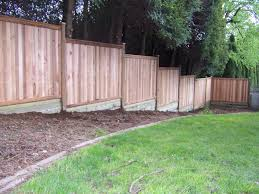 best ideas about fence building building a fence privacy fence building build a fence on sloped ground