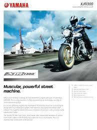 2010 <b>Yamaha XJR1300</b> Factsheet GB En   <b>Motorcycle</b> - Scribd