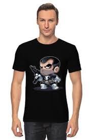 """Мужские футболки c особенными принтами """"<b>the punisher</b> ..."""