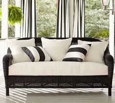 black and white patio furniture i love the black and white striped pillows black and white patio furniture