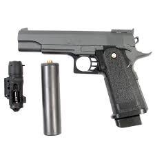 """<b>Пистолет страйкбольный Galaxy</b> """"<b>G</b>.<b>6A</b>"""", пружинный, 6 мм ..."""