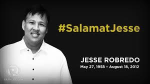 Image result for logo of maraming salamat Jesse robredo