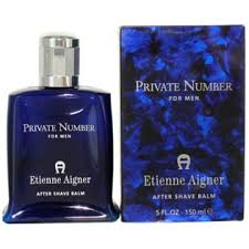 <b>Private Number</b> by Etienne <b>Aigner</b> For Men After Shave Balm 5oz