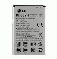 Genuine LG <b>Bl</b>-<b>53yh Battery</b> for LG G3 D855 3000mah for sale ...