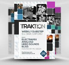 traktion student night flyer template psd student night flyer template