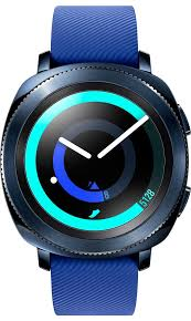 Умные <b>часы Samsung Gear Sport</b> (синий)