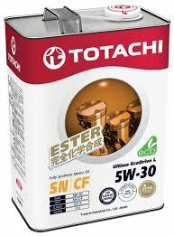 <b>Моторное масло TOTACHI</b> Ultima Ecodrive L 5W-30 4 л — купить ...