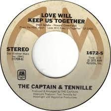 Image result for love will keep us together captain and tennille 45