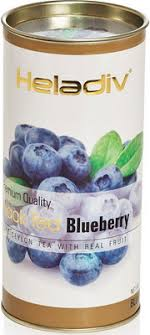 <b>Чай черный HELADIV HD</b> BLUEBERRY 100 gr Round P.T. купить в ...