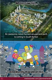 Itchy And Scratchy Land Irl by jasminemerald - Meme Center via Relatably.com