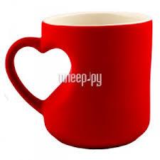 Купить <b>Эврика кружка</b>-<b>хамелеон Сердце</b> Red 95339 по низкой ...