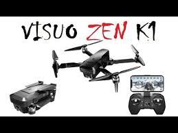 Квадрокоптер <b>VISUO ZEN K1</b> - YouTube