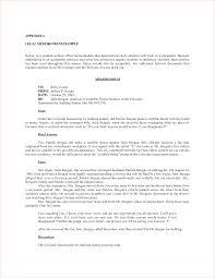 law memorandum format template law memorandum format