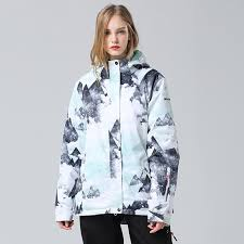 2019 2019 <b>Upgrade Ski Jacket Women</b> Windproof Waterproof ...