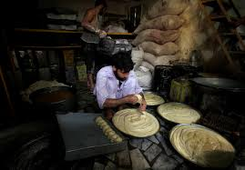 ramadan around the world newsweek middle east a baker prepares dough for b ahead of ramadan in peshawar