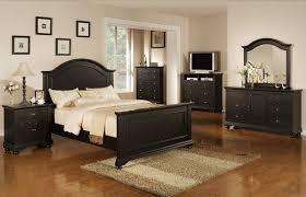 real wood bedroom furniture industry standard: varnished tiger wood queen platform bed mid century bedroom lighting white wall gray rug floor black leather modern bed glass window