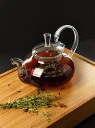 <b>Стеклянный заварочный чайник</b> с пружиной и стеклянной ...